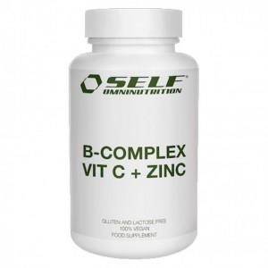 B-COMPLEX VIT C+ZINC 100cp