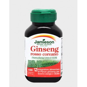 GINSENG ROSSO COREANO 100 cpr