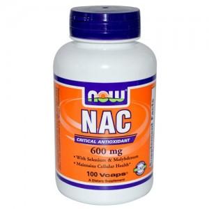 NAC 600 mg 100 veg cps
